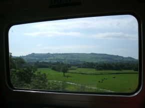 View from the train, Exeter to Salisbury